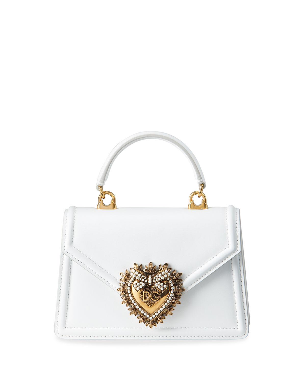 Dolce   Gabbana Devotion Mini Leather Top-Handle Bag  dec21e24a6506