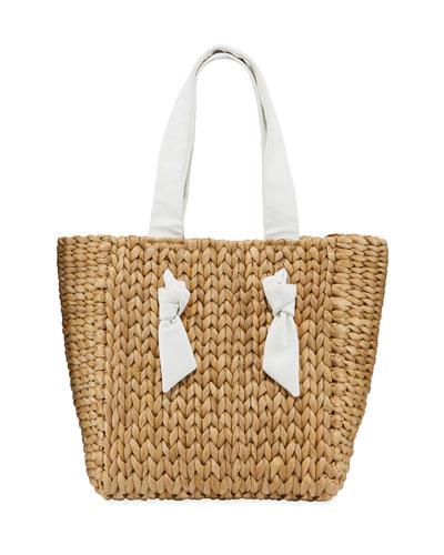 Isla Bahia Petite Woven Tote Bag