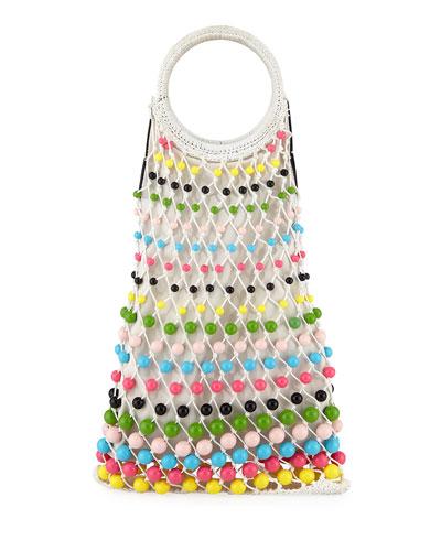 Lea Candies Multicolor Tote Bag