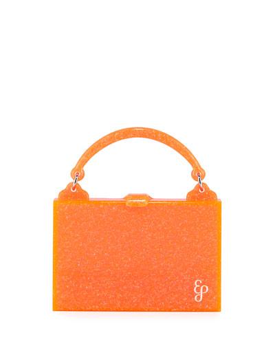 Housewife Solid Acrylic Top Handle Bag