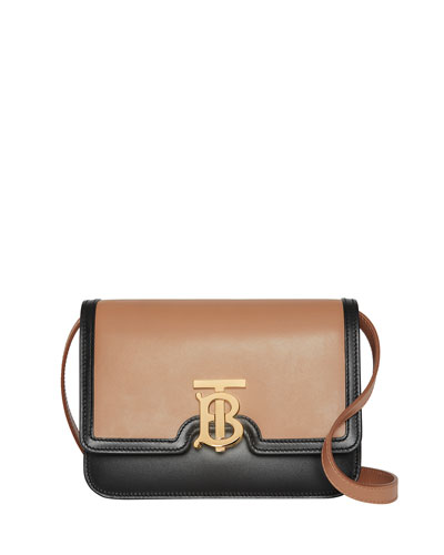 TB Small Two-Tone Crossbody Bag
