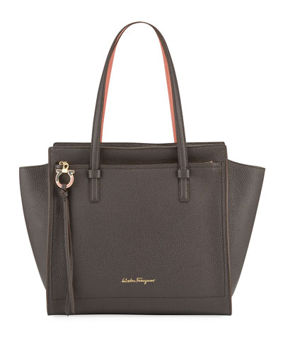 Amy Medium Leather Tote Bag