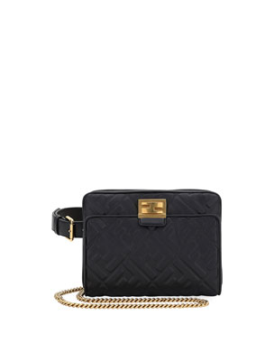 Fendi Upside-Down FF Shoulder Bag e3fd05e7d2fb8