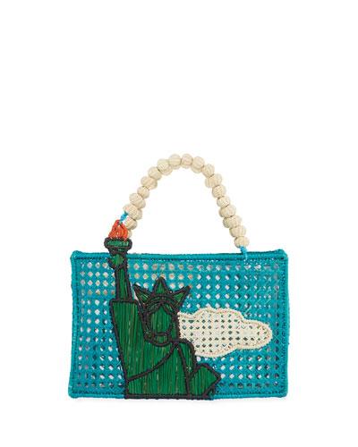 Statue of Liberty Top Handle Bag