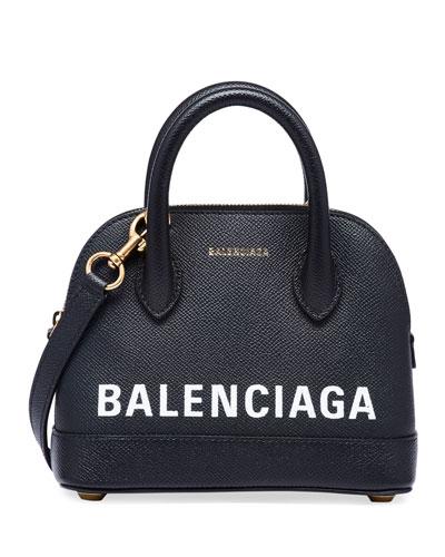 Ville XXS AJ Top-Handle Bag with Logo