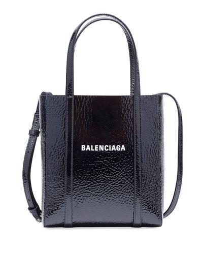 Everyday XXS AJ Textured Leather Tote Bag