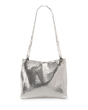 faa5f92fc170 Paco Rabanne Pixel 1969 Chain-Mail Clutch Bag