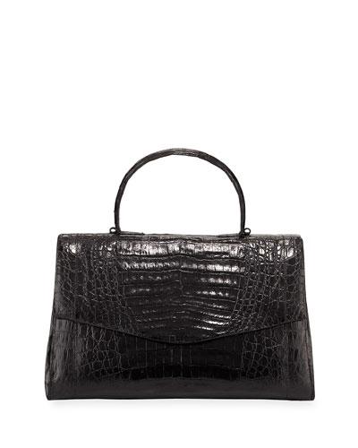 Medium East-West Top Handle Bag