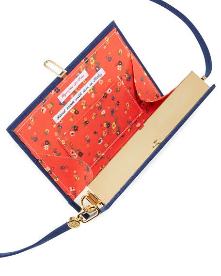 Olympia Le-Tan Central Park Book Clutch Bag