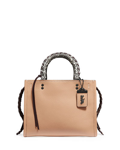 Whipstitch Exotic Rogue Satchel Bag