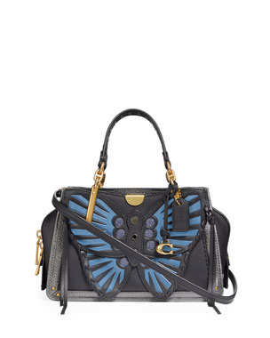 40e79868c Coach 1941 Dreamer 21 Whipstitch Butterfly Satchel Bag