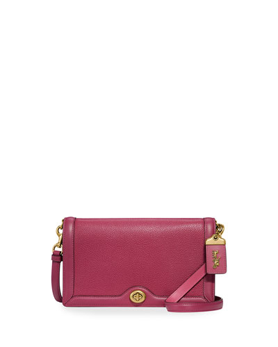 Riley Colorblock Leather Crossbody Bag