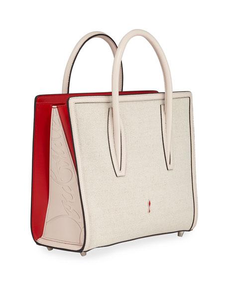 Christian Louboutin Paloma Medium Canvas Tote Bag