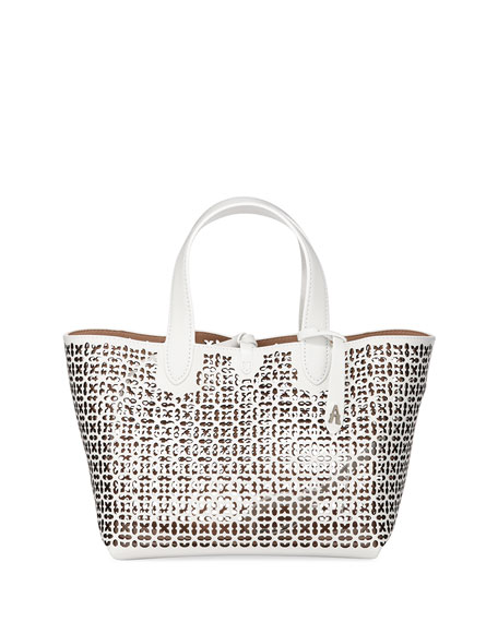 Alaïa Totes Frida Mini Laser-Cut Tote Bag