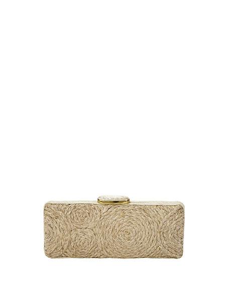 Flora Bella San Remo Raffia Clutch Bag