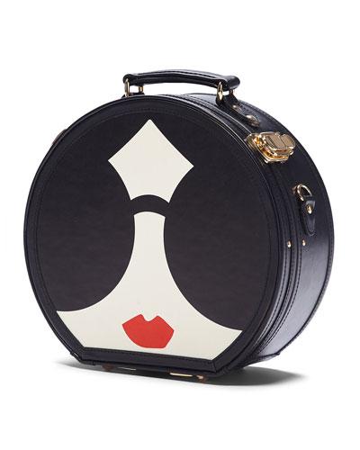 x SteamLine StaceFace Hatbox Travel Bag
