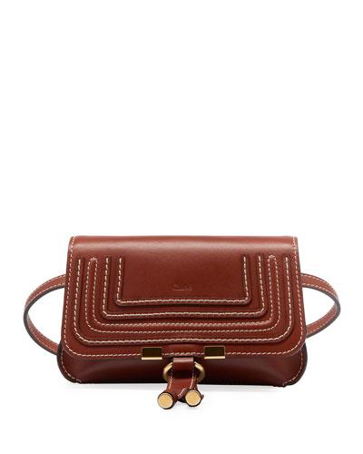 Marcie Leather Bum Belt Bag