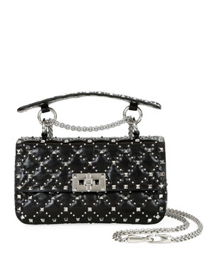 77b2c24540495 Valentino Garavani Spike.It Small Micro-Stud Shoulder Bag