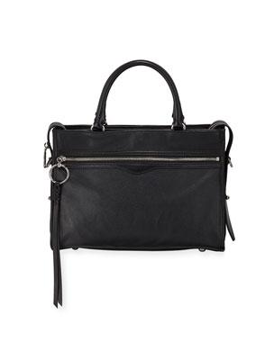 06488e31af Rebecca Minkoff Bedford Zip Leather Satchel Bag