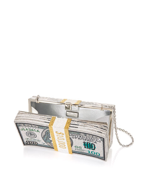 Image 2 of 5: Stack of Cash Rich Clutch Bag
