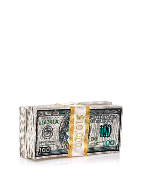 Image 3 of 5: Stack of Cash Rich Clutch Bag