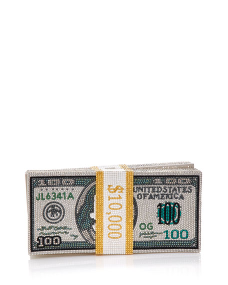 Image 1 of 5: Stack of Cash Rich Clutch Bag