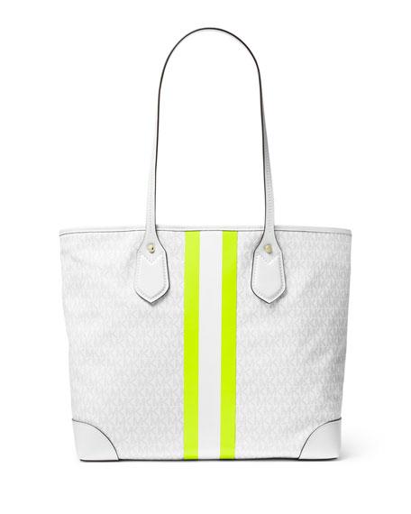 MICHAEL Michael Kors Eva Large Monogrammed Tote Bag