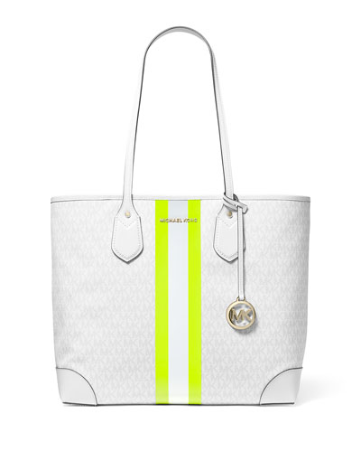 Eva Large Monogrammed Tote Bag