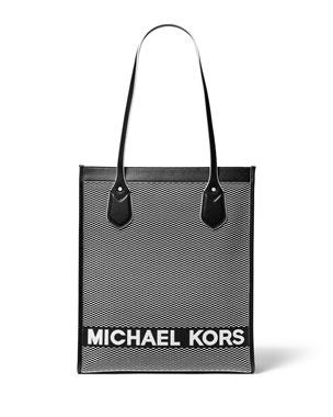 MICHAEL Michael Kors Bay Large Jacquard Tote Bag