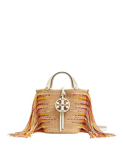 Miller Mini Fringe Bucket Bag