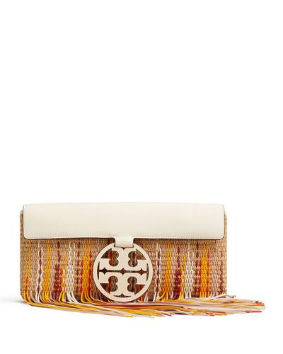 Miller Fringe Clutch Bag