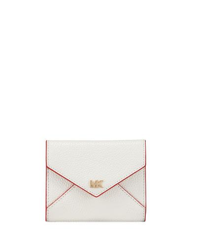 Money Pieces Medium Slim Envelope Tri-Fold Wallet