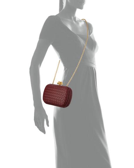 Bottega Veneta Medium Napa Chain Knot Clutch Bag
