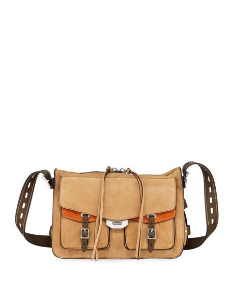 Rag & Bone Field Messenger Leather Satchel Bag