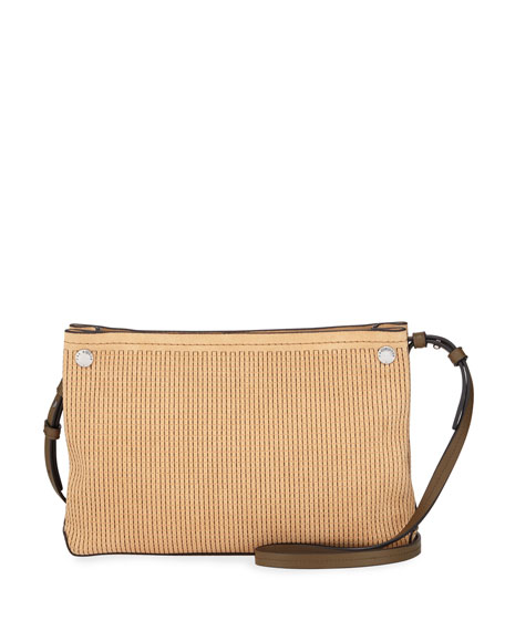 Rag & Bone Compass Stitched Suede Crossbody Bag