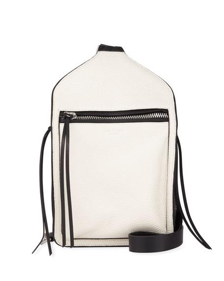 Rag & Bone Elliot Large Leather Belt Bag, White