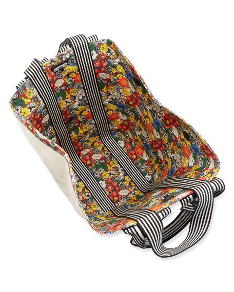 Rebecca Minkoff Fan Reversible Canvas Tote Bag