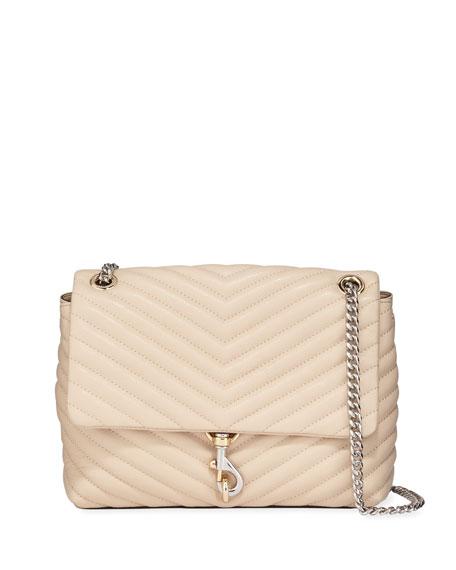 Rebecca Minkoff Edie Quilted Leather Shoulder Bag