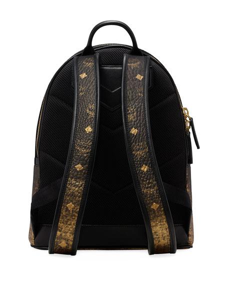 Mcm Stark Gradation Visetos Canvas Backpack Neiman Marcus