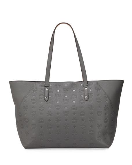 MCM Klara Monogrammed Tote Bag