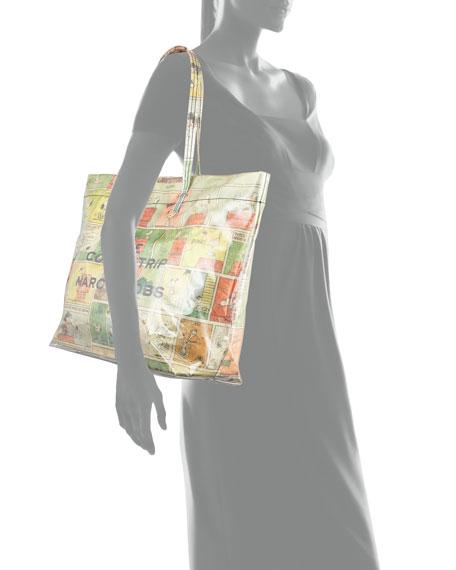 Marc Jacobs The Comic Strip Peanuts Tote Bag