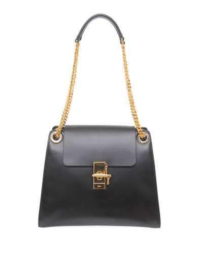Annie Medium Smooth Shoulder Bag