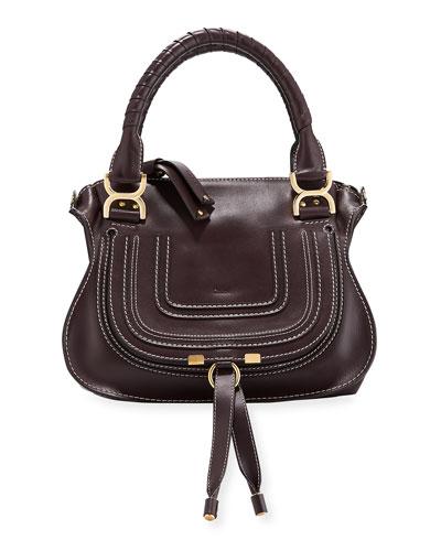 Marcie Small Smooth Calf Shoulder Bag