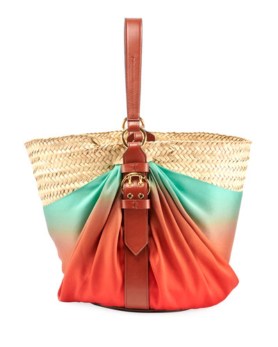 Panier Silk Shoulder Bag
