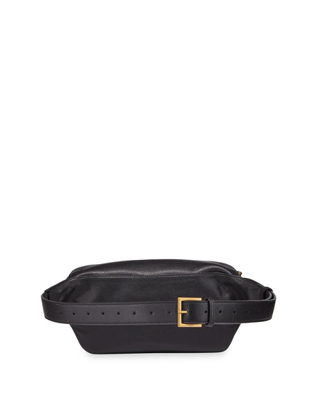 Saint Laurent Ysl Monogram Logo Fanny Pack Belt Bag