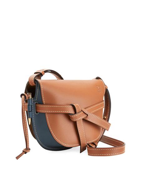 Loewe Gate Colorblock Small Shoulder Bag