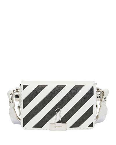 Diagonal Mini Flap Shoulder Bag
