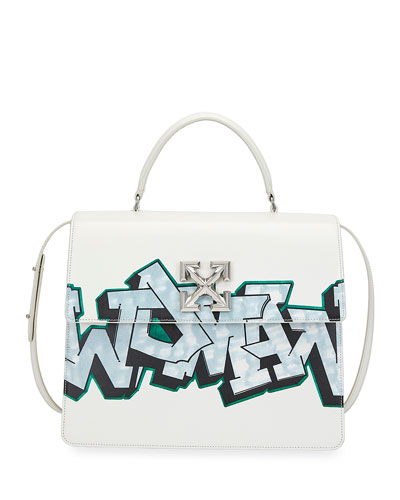 Jitney 4.3 Graffiti Top-Handle Bag
