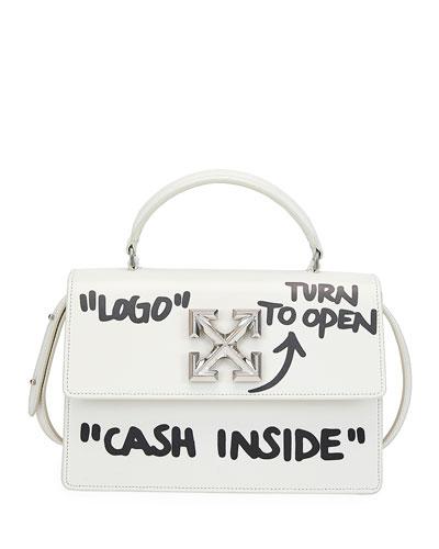 Jitney 1.4 Cash Inside Top-Handle Bag