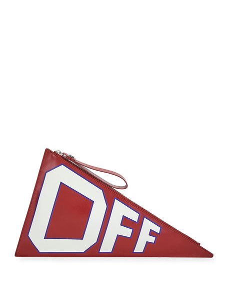 Off-White Mattone Flag Clutch Bag
